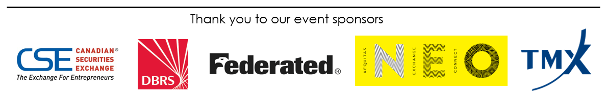Thank you to our event sponsors - Feb 15 2017 - ENG
