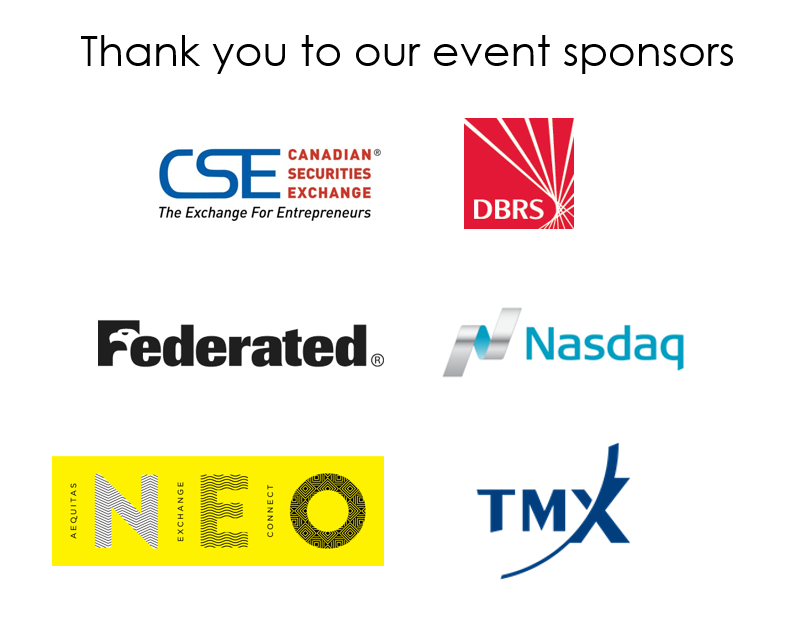 Thank you to our event sponsors - Apr 12 2017 - ENG